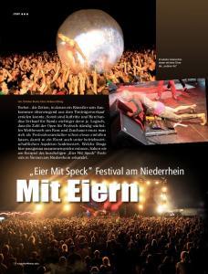 Mit Eiern. Eier Mit Speck Festival am Niederrhein