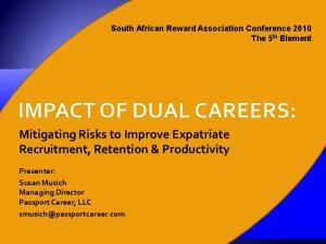 Mitigating Risks to Improve Expatriate Recruitment, Retention & Productivity