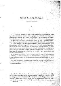 MITOS DE LOS NAHOAS
