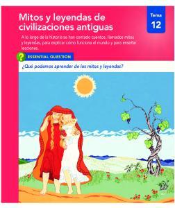 Mitos y leyendas de civilizaciones antiguas