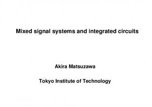 Mixed signal systems and integrated circuits
