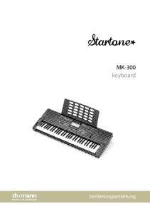 MK-300 keyboard. bedienungsanleitung