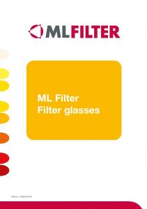 ML Filter Filter glasses