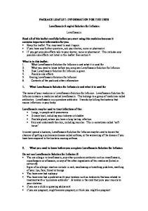 ml Solution for Infusion. Levofloxacin