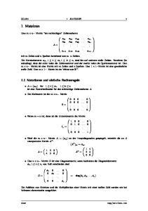 MLAN1 1 MATRIZEN 1 0 = A T =