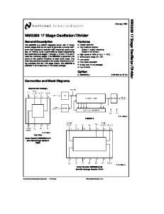 MM Stage Oscillator Divider