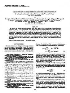 MOA 2003-BLG-37: A BULGE JERK-PARALLAX MICROLENS DEGENERACY