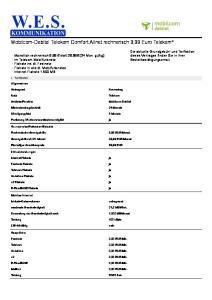 Mobilcom-Debitel Telekom Comfort Allnet rechnerisch 9,99 Euro Telekom*