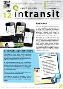 Mobile Apps Social media in public transport Business benefits of using social media