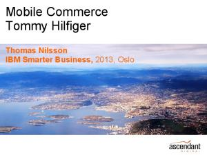 Mobile Commerce Tommy Hilfiger