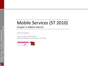 Mobile Services (ST 2010)