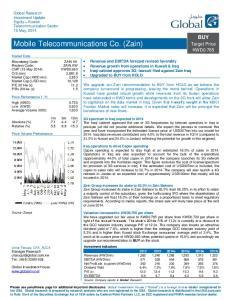 Mobile Telecommunications Co. (Zain)