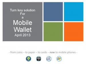 Mobile Wallet April 2013