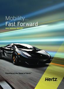Mobility Fast Forward Annual Report