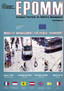 MOBILITY MANAGEMENT FOR PUBLIC TRANSPORT