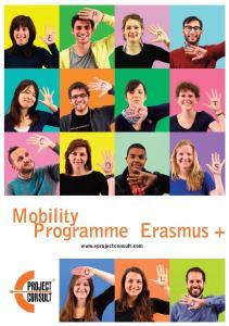 Mobility Programme Erasmus +