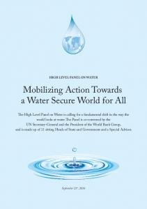 Mobilizing Action Towards a Water Secure World for All