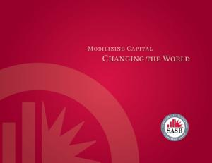 Mobilizing Capital Changing the World