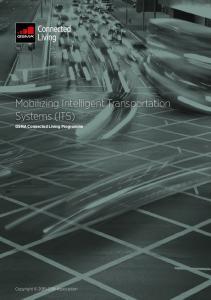 Mobilizing Intelligent Transportation Systems (ITS)