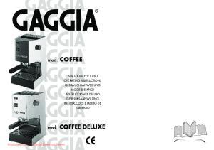 mod. COFFEE mod. COFFEE DELUXE