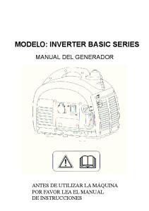 MODE : INVERTER BASIC SERIES