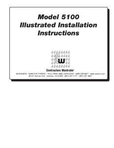 Model 5100 Illustrated Installation Instructions