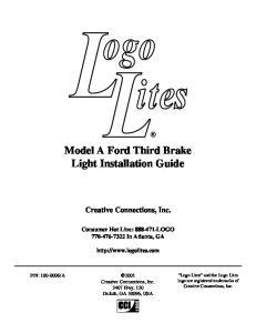 Model A Ford Third Brake Light Installation Guide