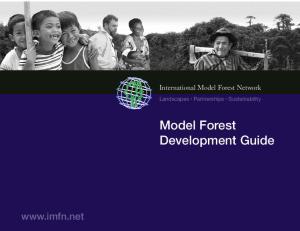 Model Forest Development Guide