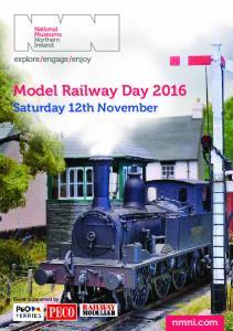 Model Railway Day 2016