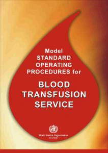 Model STANDARD OPERATING PROCEDURES for