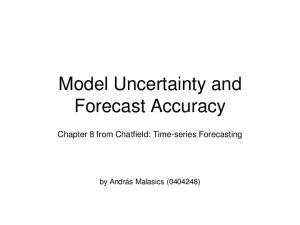 Model Uncertainty and Forecast Accuracy