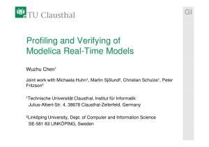 Modelica Real-Time Models