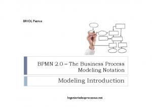 Modeling Introduction