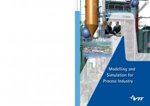 Modelling and Simulation for Process Industry