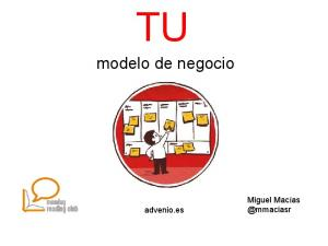 modelo de negocio advenio.es Miguel