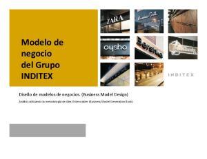 Modelo de negocio del Grupo INDITEX