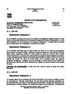 MODELO DE RESPUESTAS