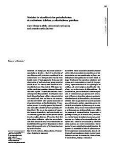 Modelos de atención de los padecimientos: de exclusiones teóricas y articulaciones prácticas