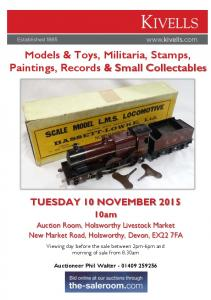 Models & Toys, Militaria, Stamps, Paintings, Records & Small Collectables