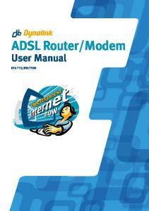Modem User Manual