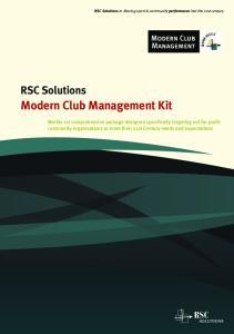 Modern Club Management Kit