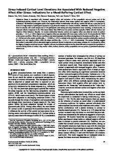 Modern conceptualizations view stress from a systemic