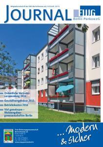 Modern icher. Berlin-Pankow eg. Ordentliche Vertreterversammlung