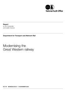 Modernising the Great Western railway