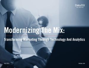 Modernizing The Mix: Transforming Marketing Through Technology And Analytics