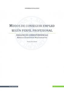 MODOS DE CONSEGUIR EMPLEO