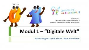 Modul 1 Digitale Welt