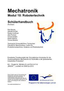 Modul 10: Robotertechnik