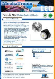 Modular Passive LED Cooler