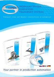 Modular System Conveyors transport systems